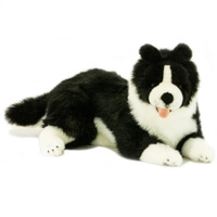 Bocchetta - Starsky Border Collie Plush Toy 37cm