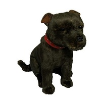 Bocchetta - Scooter Staffordshire Bull Terrier Plush Toy 38cm