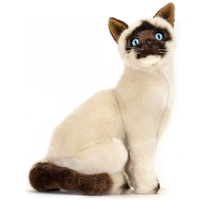 Bocchetta - Noodles Siamese Cat Sitting Plush Toy 26cm