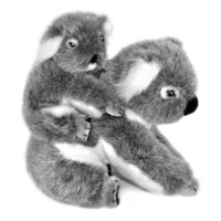 Bocchetta - Kelly Koala With Kiri Joey On Back Plush Toy 23cm