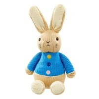 Peter Rabbit - Peter Made with Love Knitted Plush