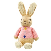 Peter Rabbit - Flopsy Made with Love Knitted Plush