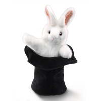 Folkmanis - Rabbit In The Hat Puppet
