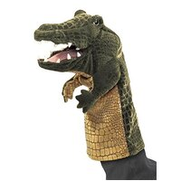 Folkmanis - Crocodile Stage Puppet
