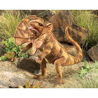 Folkmanis - Frilled Neck Lizard Puppet