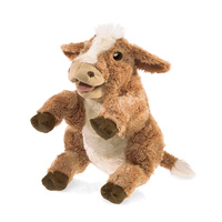 Folkmanis - Brown Cow Puppet