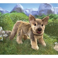 Folkmanis - German Shepherd Puppy Puppet