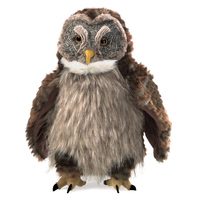 Folkmanis - Owl, Hooting Puppet