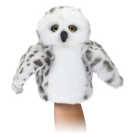 Folkmanis - Little Snowy Owl Puppet
