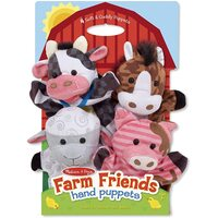 Melissa & Doug - Hand Animal Puppets - Farm