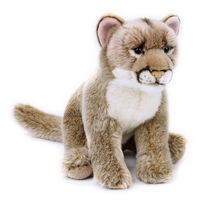 National Geographic - Mountain Lion Plush Toy 25cm
