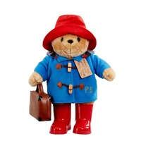 Paddington Bear - Paddington with Boots & Embroidered Coat 34cm