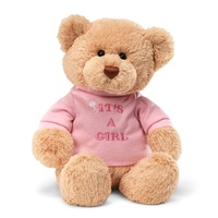 Gund - Message Bear It's a Girl Plush Toy 32cm