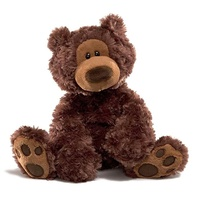 Gund - Philbin Dark Brown Bear 33cm
