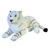 Wild Republic - White Tiger Plush Toy 76cm