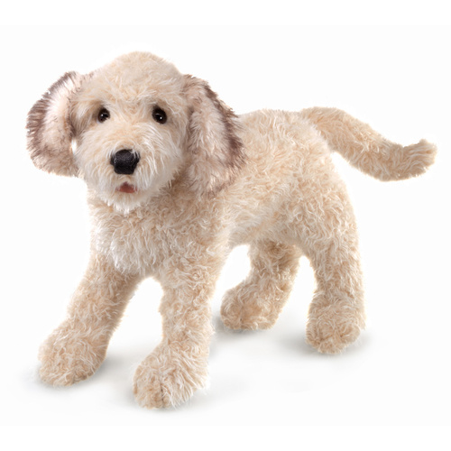 Folkmanis - Labradoodle Puppet