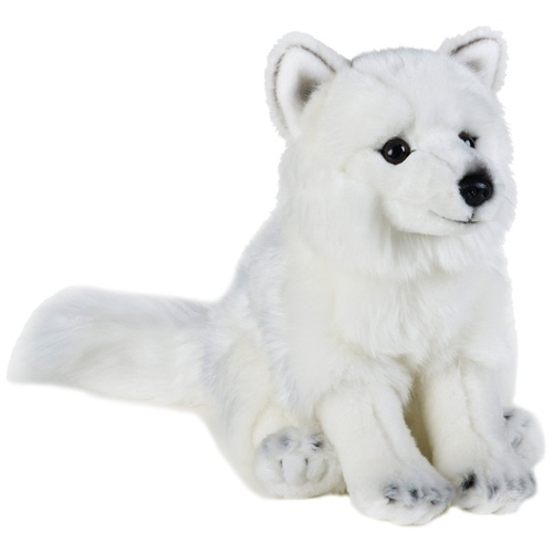 National Geographic - Arctic Fox Plush Toy 24cm