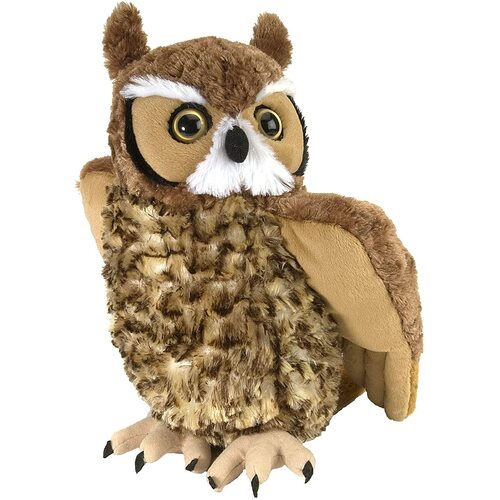 Wild Republic - Cuddlekins Great Horned Owl 30cm