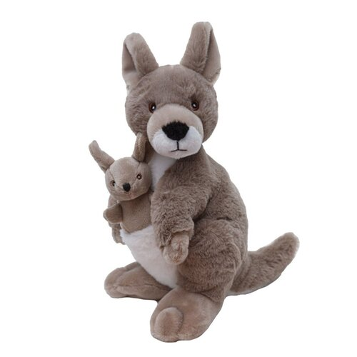 Wild Republic - Ecokins Kangaroo Plush Toy 30cm