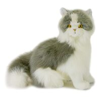 Bocchetta - Missy Norwegian Grey Cat Plush Toy 34cm