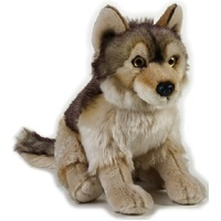 National Geographic - Wolf Plush Toy 25cm