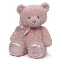 Gund - My First Teddy Pink 38cm